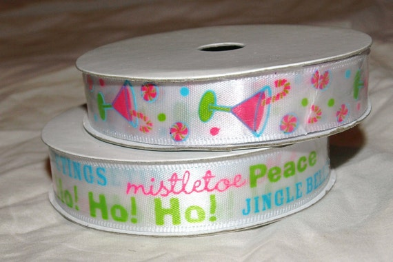 DESTASH- Ribbon destash, christmas party, holiday themed