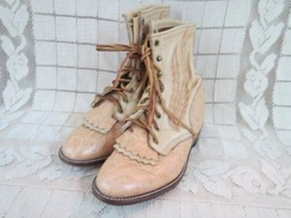 Larry Mahan Ropers boots womens 9