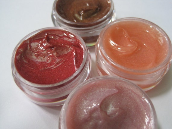 Neutral Tones Lip Color, Lip Gloss, Lip Shine - Moisturizing and Paraben Free