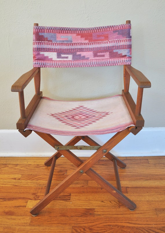 Southwestern Native American Print Director's Chair
