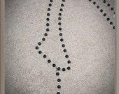 Men's Obsidian Rosary Necklace