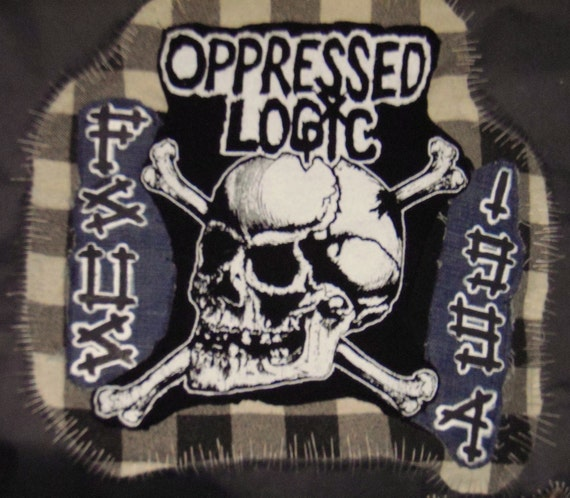 Example of Personalized Back Patch