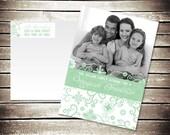 Printable Magical Christmas Photo Card