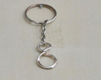Handmade Infinity keychain