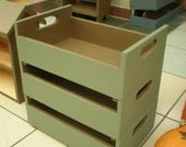 Stackable Wood Crates