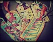 THE FLASH . Vintage1980s Comics . Flash Gordon bookmarks . DC . Marvel . altered art . gift tags . scrapbooking idea .