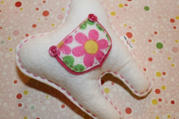 Flower Power ToothFairy Pillow