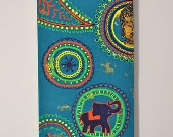 Buddha Elephant Painting - Mandalas Style Original Artwork