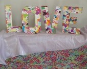 "Handmade Wall Decor ""Love Letters"""