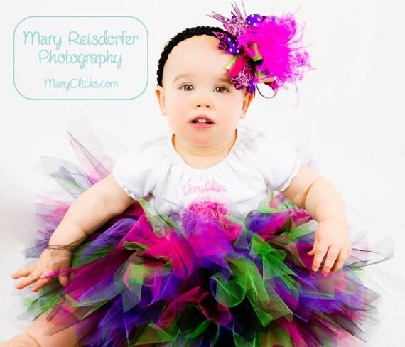 Custom Infant and Toddler Tutu Sizes 0-2T