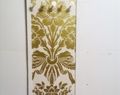 Wall Mount Jewelry Holder Gold Cream Display