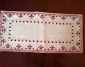 Reserved Tablecloth Bulgarian embroidery Hand made table runner