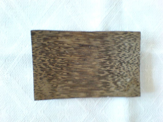 Vintage small wooden plate/tray
