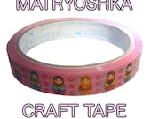 Matryoshka Tape - Japanese Deco Style
