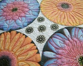 Mini Quilted Wall Hanging, Art Quilt, Photo Quilt