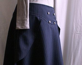 CUSTOM Steampunk Sailor Skirt