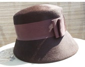 Vintage Bow About Town Sally Jacque Hat