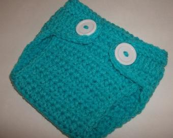 Crochet Baby Diaper Cover, Newborn Diaper Cover, Newborn Photo Prop , Baby Shower Gift , Made To Order