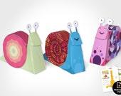 3D Snail family