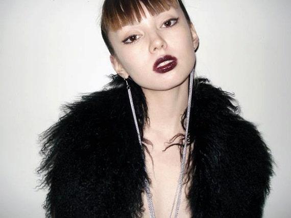 Earlace/ Single Earring Chain Silver / Rihanna