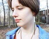 OM NAGA DEVA Rattlesnake vertebrae earrings (06)