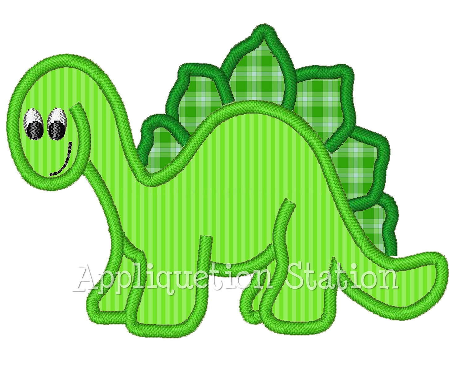 dinosaur boys applique machine embroidery design green baby. Black Bedroom Furniture Sets. Home Design Ideas