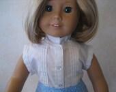 """2-pc Pintuck Shirt & Skirt Set- 18"""" Dolls"""
