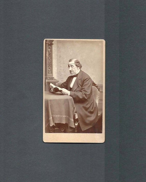 CDV of a Man with an Eye Patch
