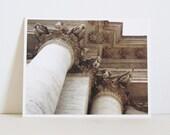 Paris Photography Architectural Photo Card Colonnade Classical Architecture