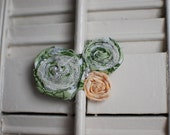 Handmade Floral Hairpiece