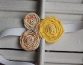 Handmade Floral Headband
