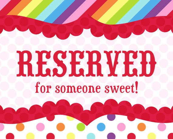 RESERVED for ERICA BEY from Truly Sweet Circus