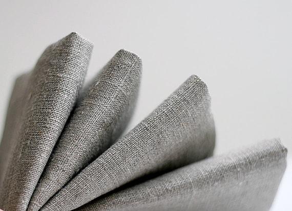 12 Natural Linen  napkin classic color  14x14 inch size    0228