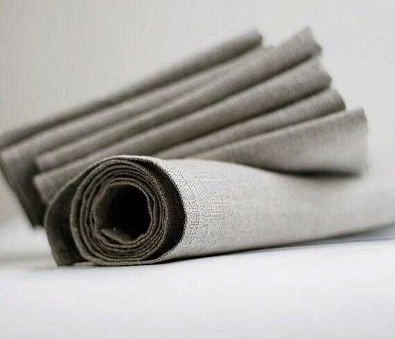 Linen napkin set of 6 and table runner