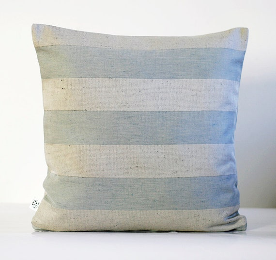 Linen Pillow cover. Spring Pastels collection - 18x18.
