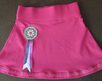 Nice jersey skirt with applications -size 98/104-