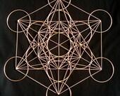 Metatron's Cube in copper