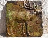 6x6 Accent Tile - Elk in Designer Color Stain. More colors available