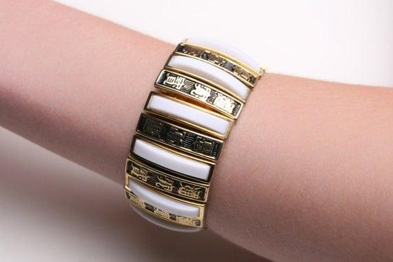 Vintage Asian Fashion Expansion Bracelet