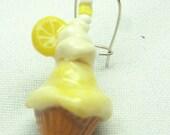 Cool Citrus: Lovely Lemon Icecream Earrings
