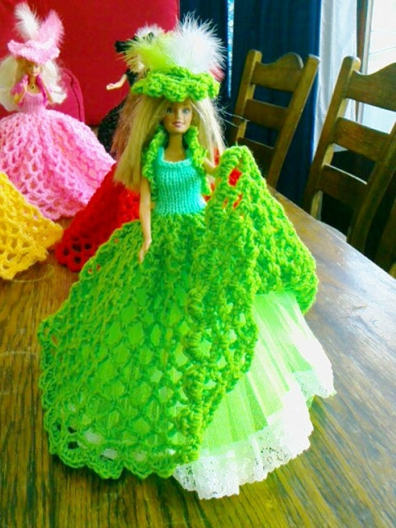 New Handmade  VICTORIAN STYLE BALLGOWN clothes for Barbie Dolls designed and made by nannycheryl  918   (6)
