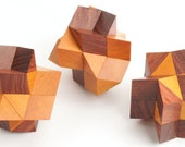 Triumph, Companion and Fusion Confusion Matched Set in Chakte Viga and Bubinga Woods