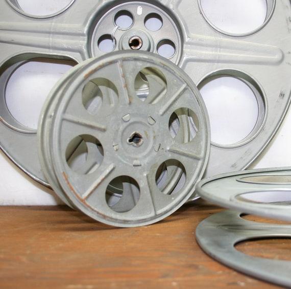 """Vintage Movie Reel -- 14.5"""" Diameter"""