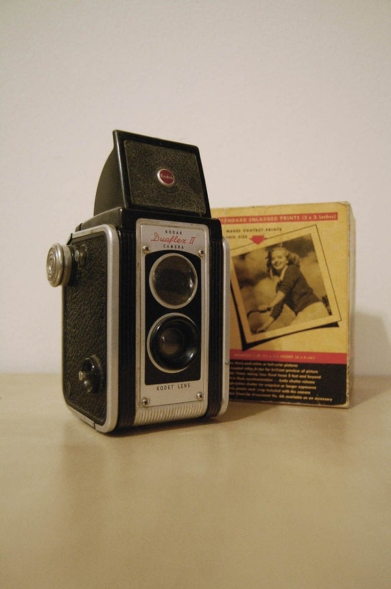 Kodak Duaflex II Camera with Box