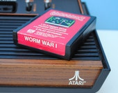 Worm War I Atari 2600 Game Cartridge - StrangeBeauty