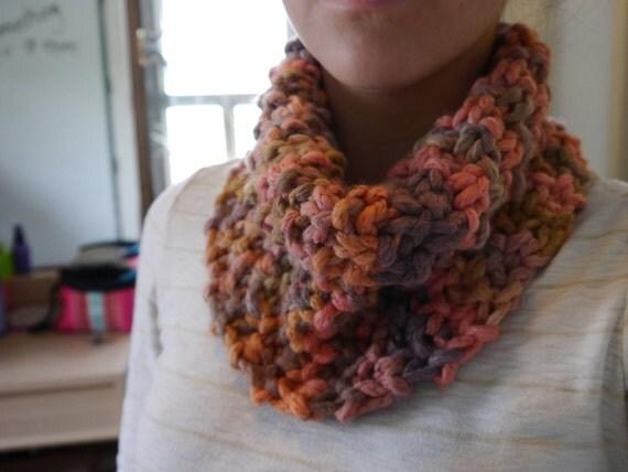 Cozy Sherbet Cowl - Knit