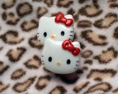 12mm - 22mm Made To Order Kawaii Kitty Bow Head Plugs