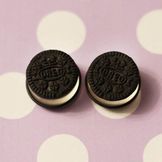 18mm - 24mm made to order custom oreo cookie plugs