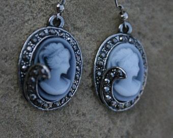 Cameo Earrings