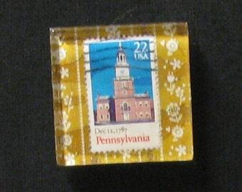 Hand Made Pennsylvania Magnet